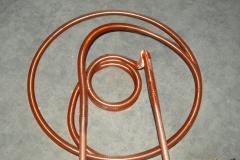 2.1 serpentina rame alettato forma strana scarico termico
