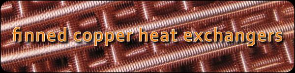 finned copper heat exchangers